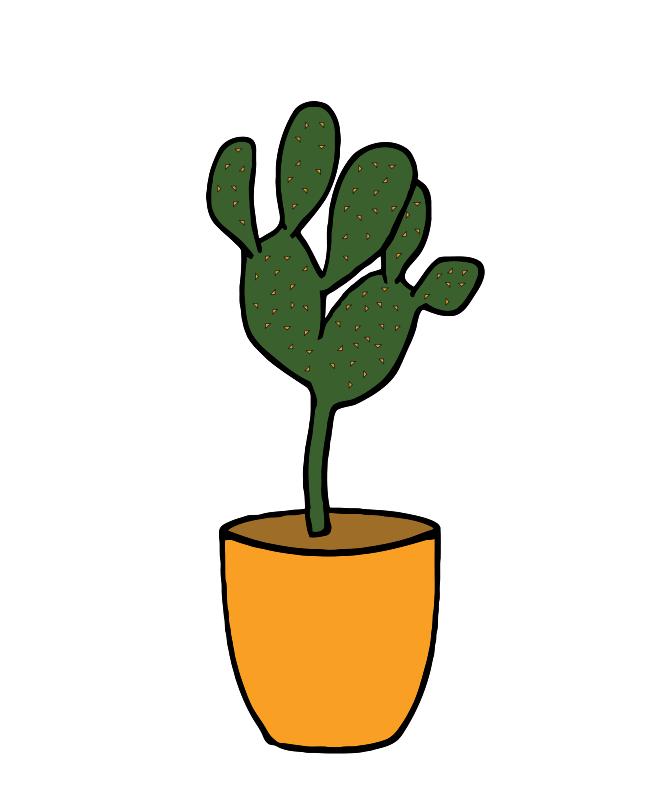 Free Clipart: Cactus - Plants 001 | TikiGiki