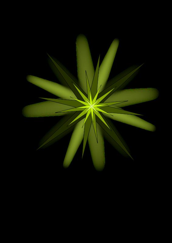 Free Green Star