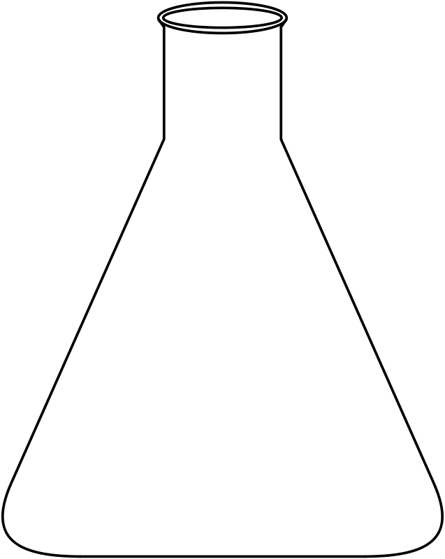 Free Clipart: Erlenmeyerkolben | raskalnikow