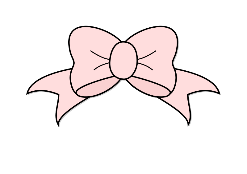 Free Pink Bow