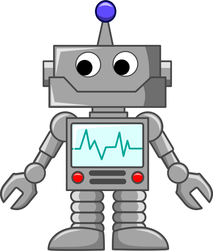 Free cartoon robot