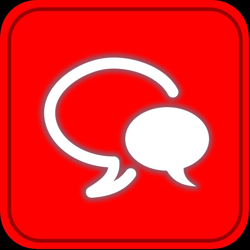 Free Clipart: Botón Chat 2 | mediobit