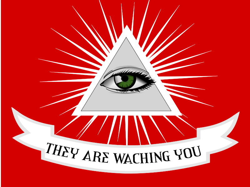 Free THEY ARE WATCHING YOU