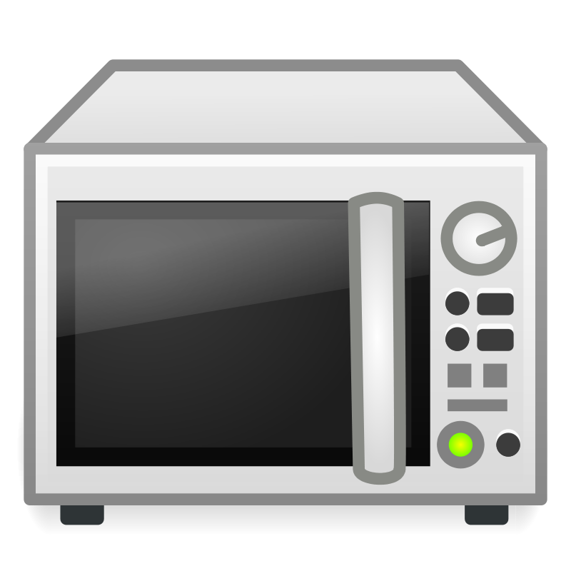 Microwave Clip Art: Free Clipart: Microwave