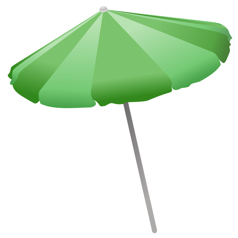 Free Beach Umbrella