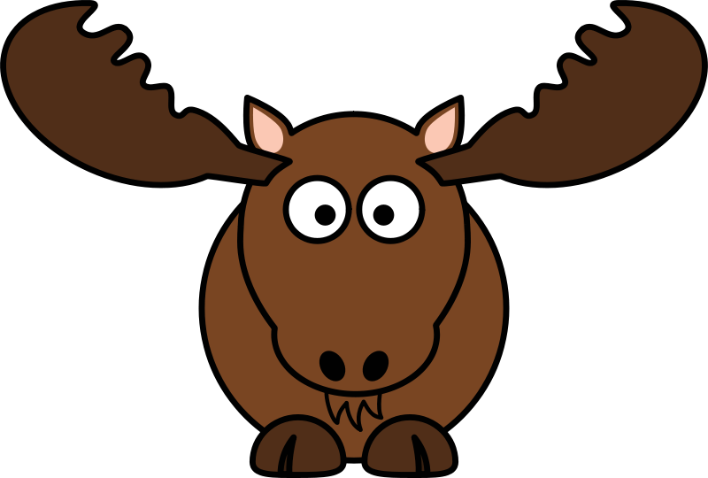 Free Cartoon Moose