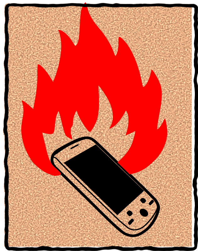 Free burn your phone
