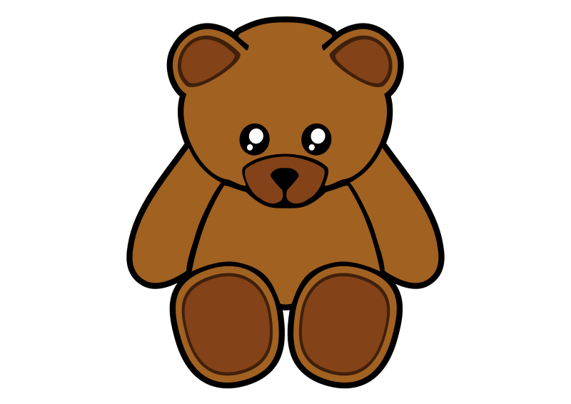 Free Simple Teddy Bear
