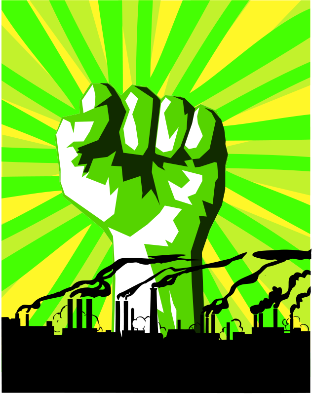 Free Green power against pollution