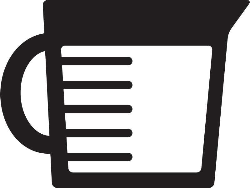 Free Kitchen Icon - Measuring Cup