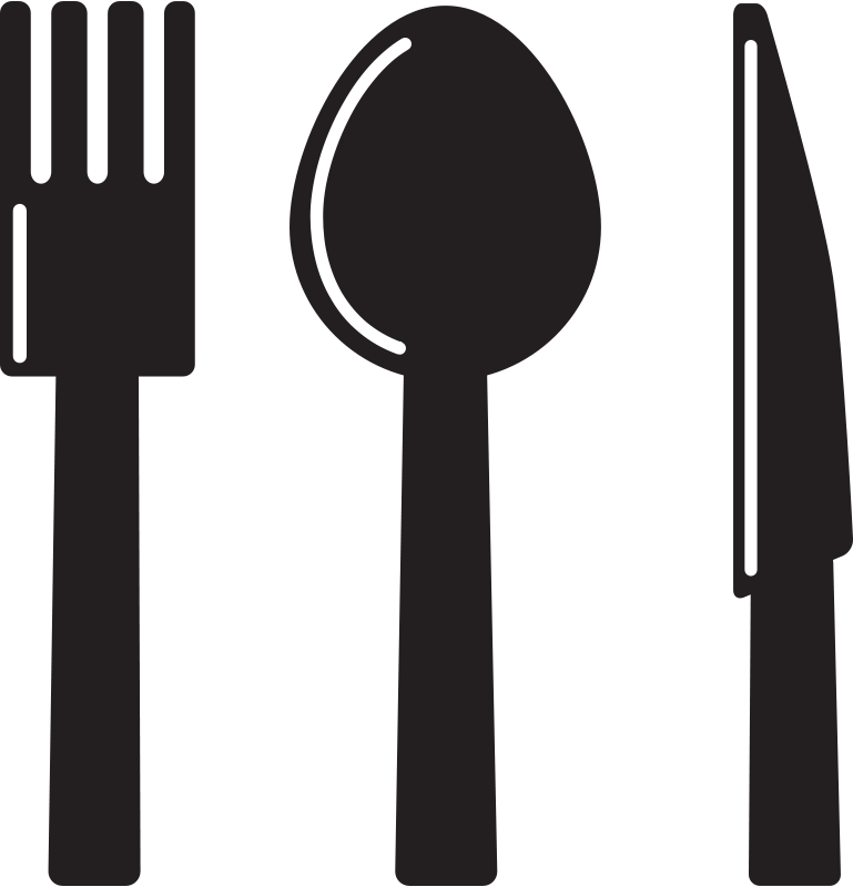 Free Kitchen Icon - Knife Spoon Fork