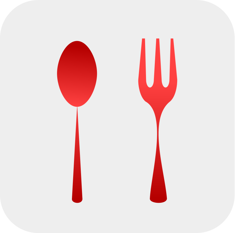 Free Spoon and Fork