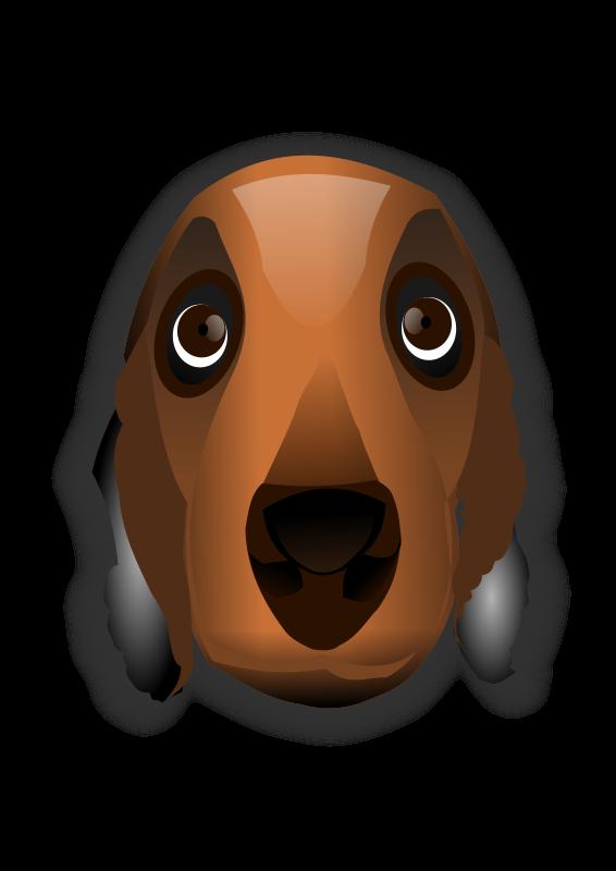 Free dog head