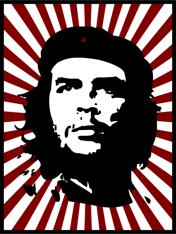 Free Che with red background
