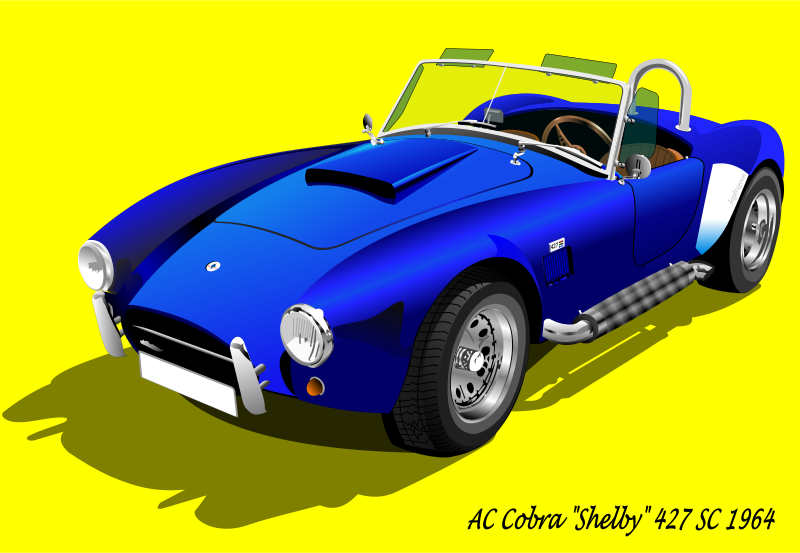 Free AC Cobra 427 SC 1965 (with background)