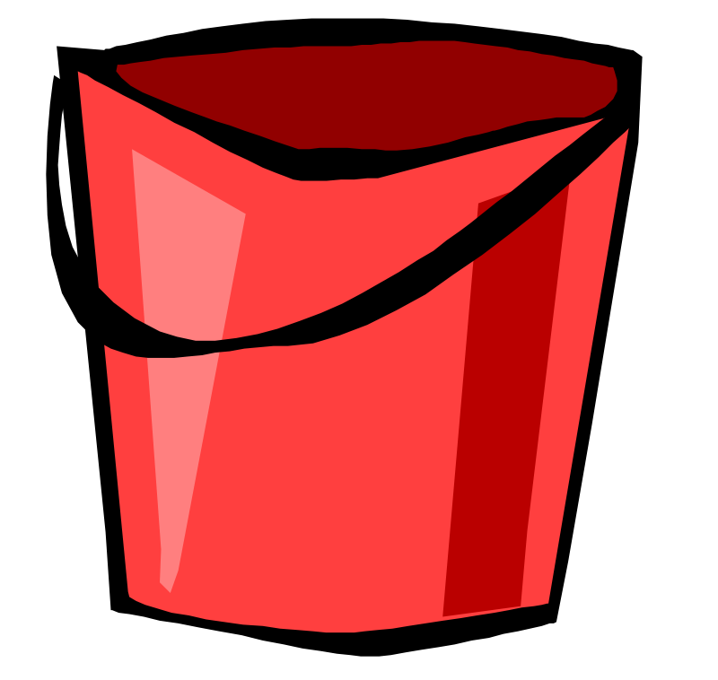 Free Red Bucket