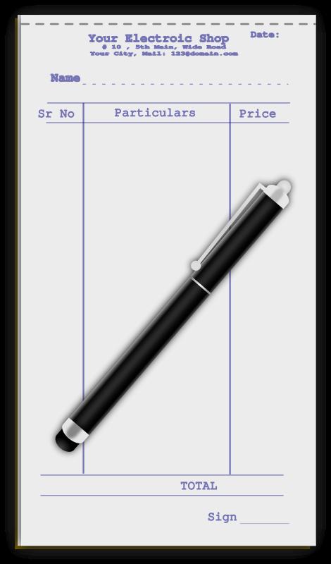 Free Pen with Slip