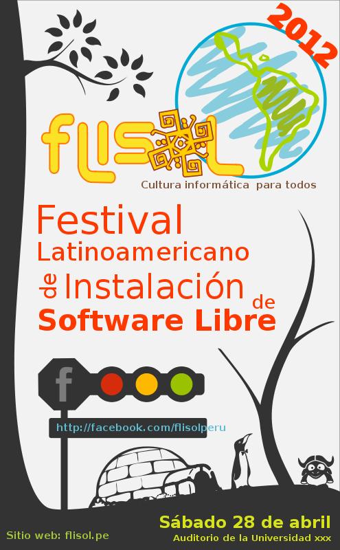 Free FLISOL 2012 PERU PROPUESTA