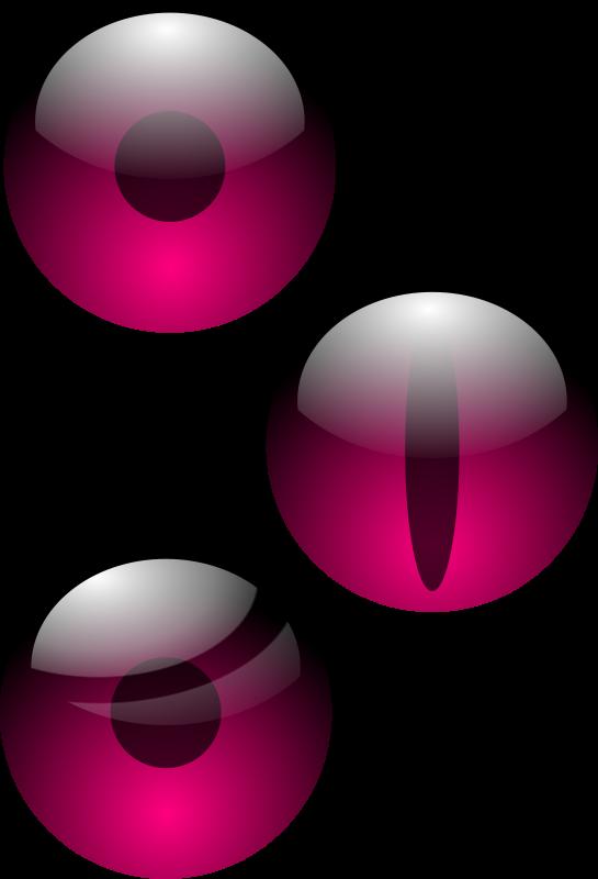 Free three eyes (ff007f)