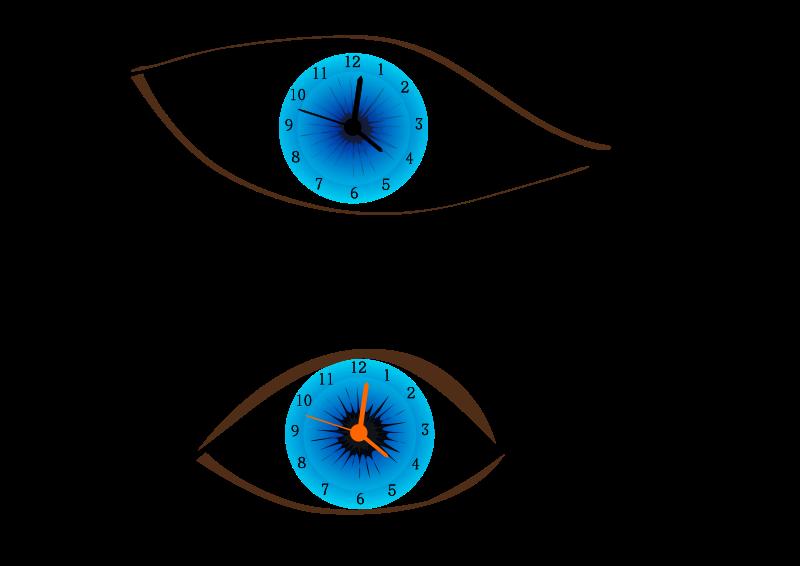 Free Clock eye