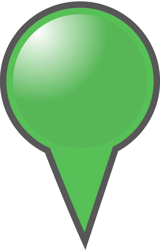 Free Green Map Marker