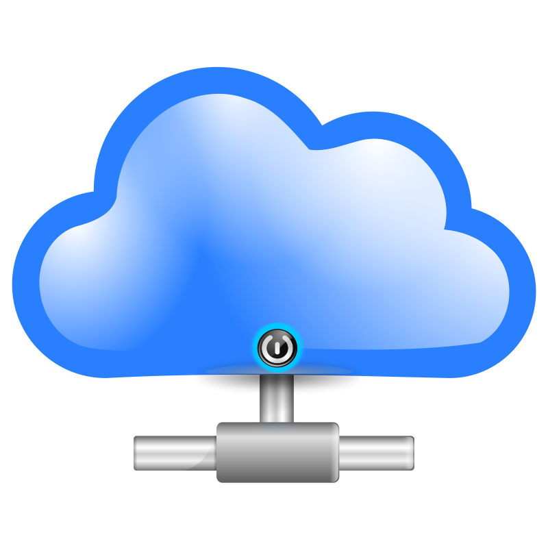 free clipart cloud computing mrallowski rh 1001freedownloads com Cloud Computing Benefits Cloud Computing Benefits