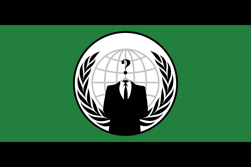 Free Anonymous flag