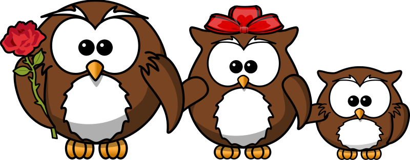Free Family of owls