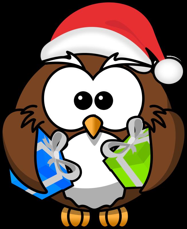 Free Santa Owl