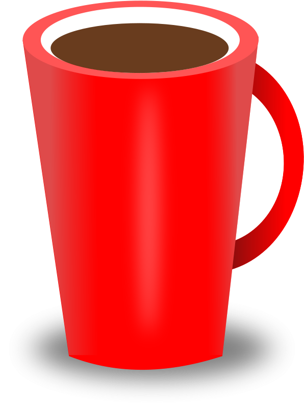 Free Clipart Red Coffee Cup Gsagri04