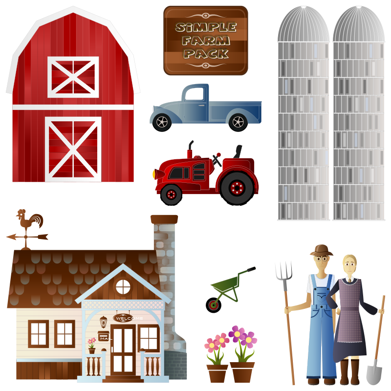 Free Simple Farm Pack