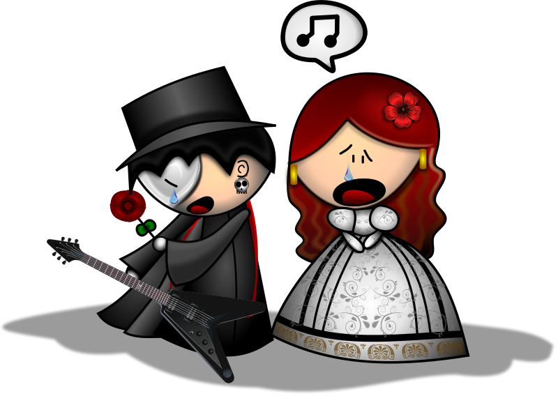 Free Clipart: The Phantom of The Opera Remix | Merlin2525