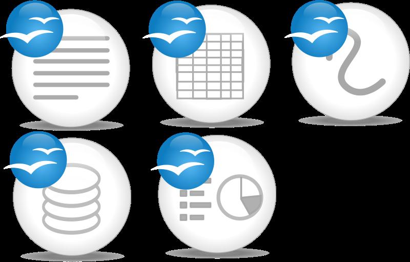 Free OpenOffice.org Application Logo
