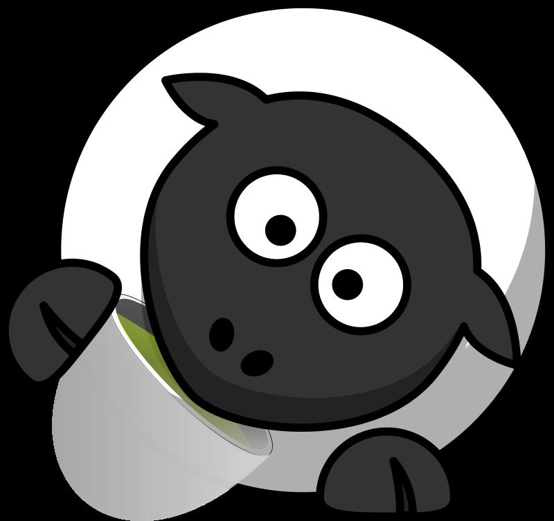 Free Teatime sheep