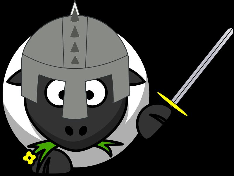 Free Knight sheep