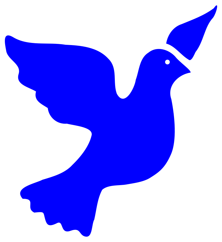 Free Clipart: Peace dove | worker