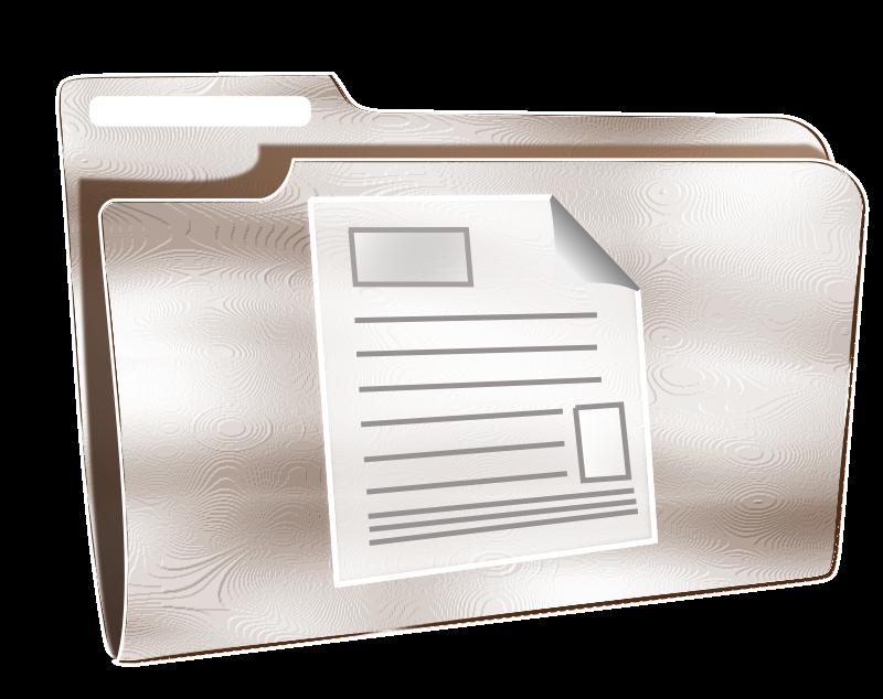 Free Folder icon plastic document