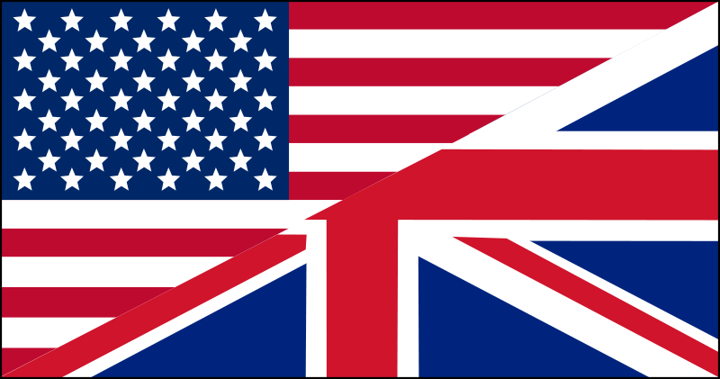 Free US/UK flag
