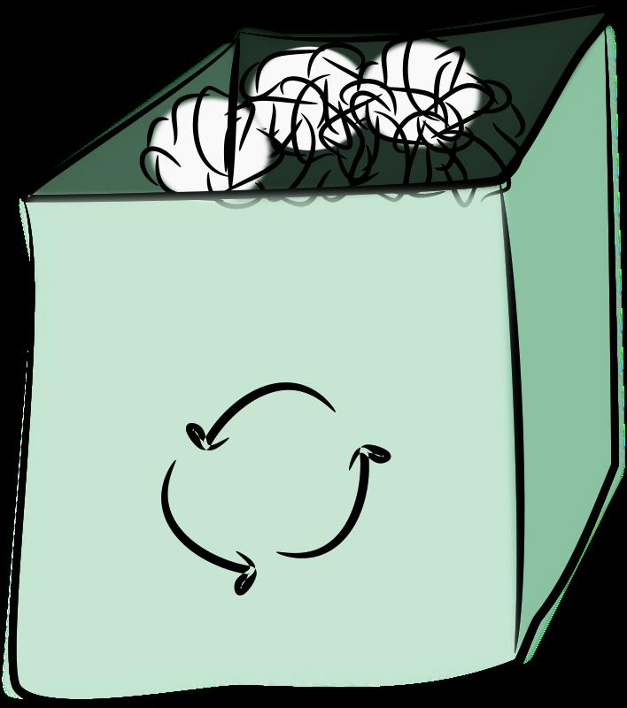Free trash bin