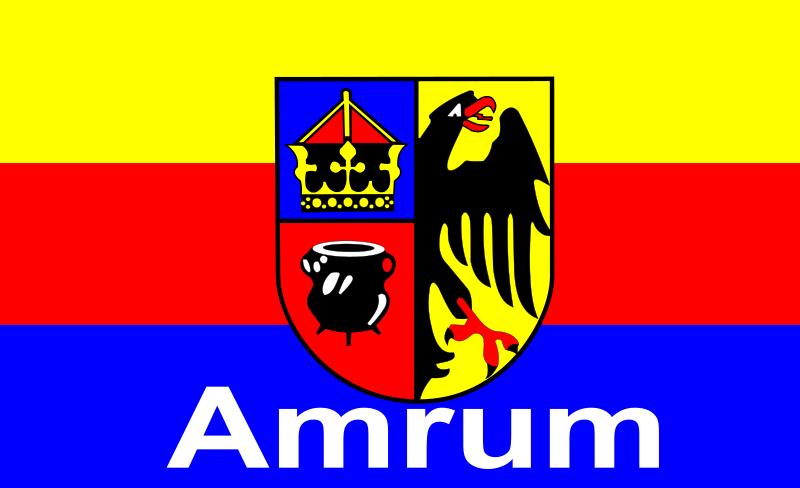 Free Amrum Flagge