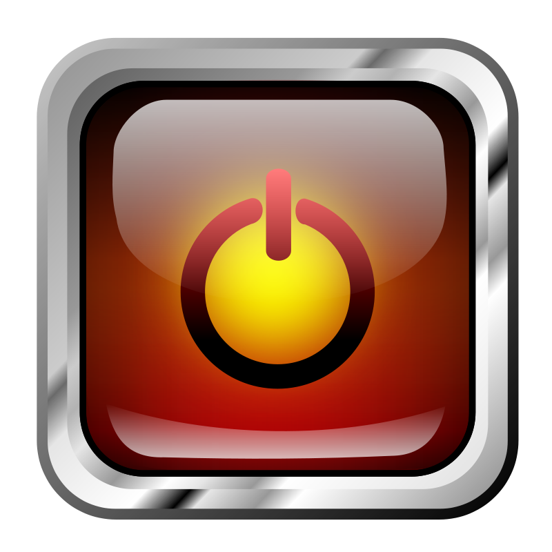 Free Icon Red Multimedia Power