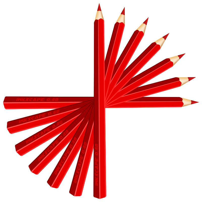 Free red pencils