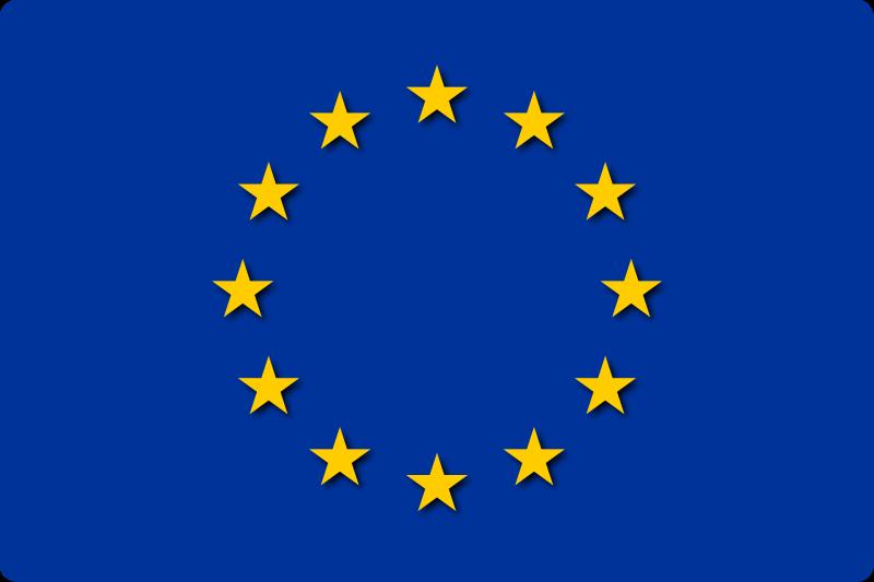 Free Flag of EU
