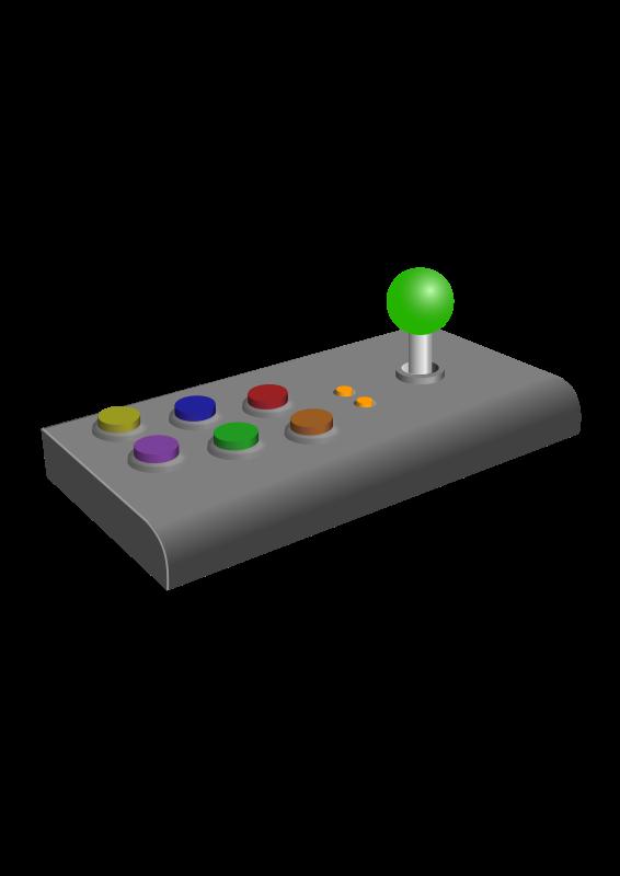 Free Retro Arcade Joystick