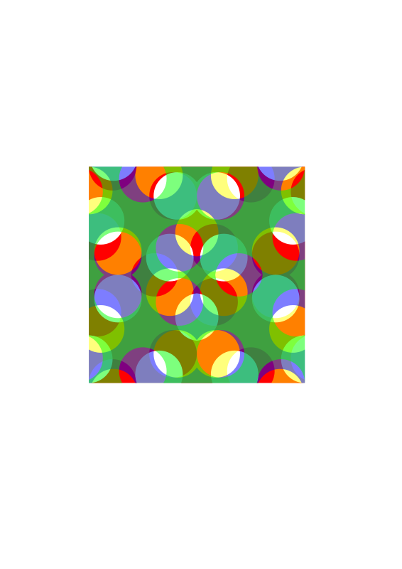 Free Colourful Square pattern 3
