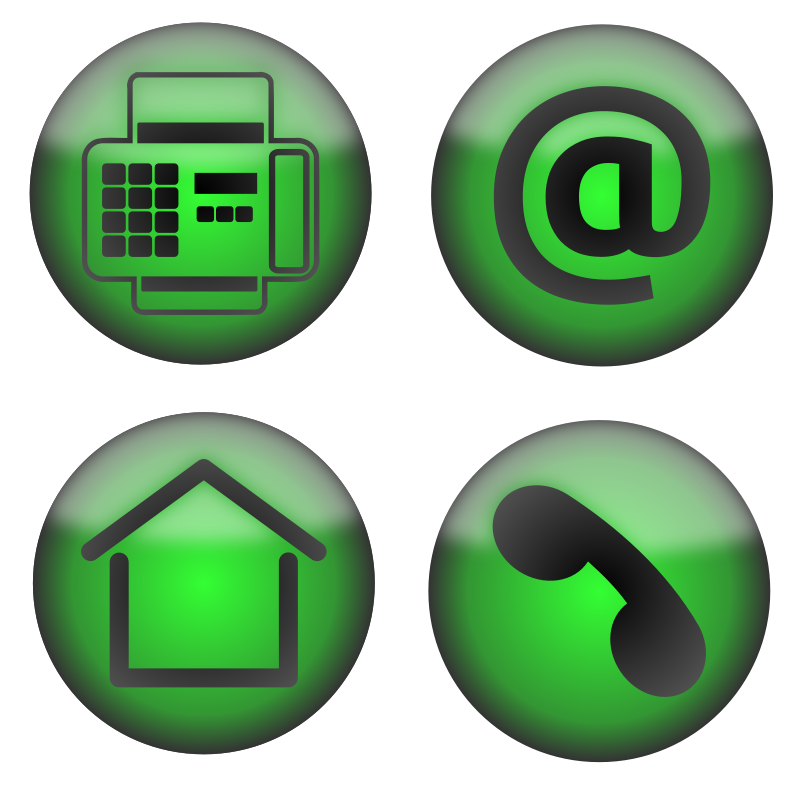 Free Four Contact Icons