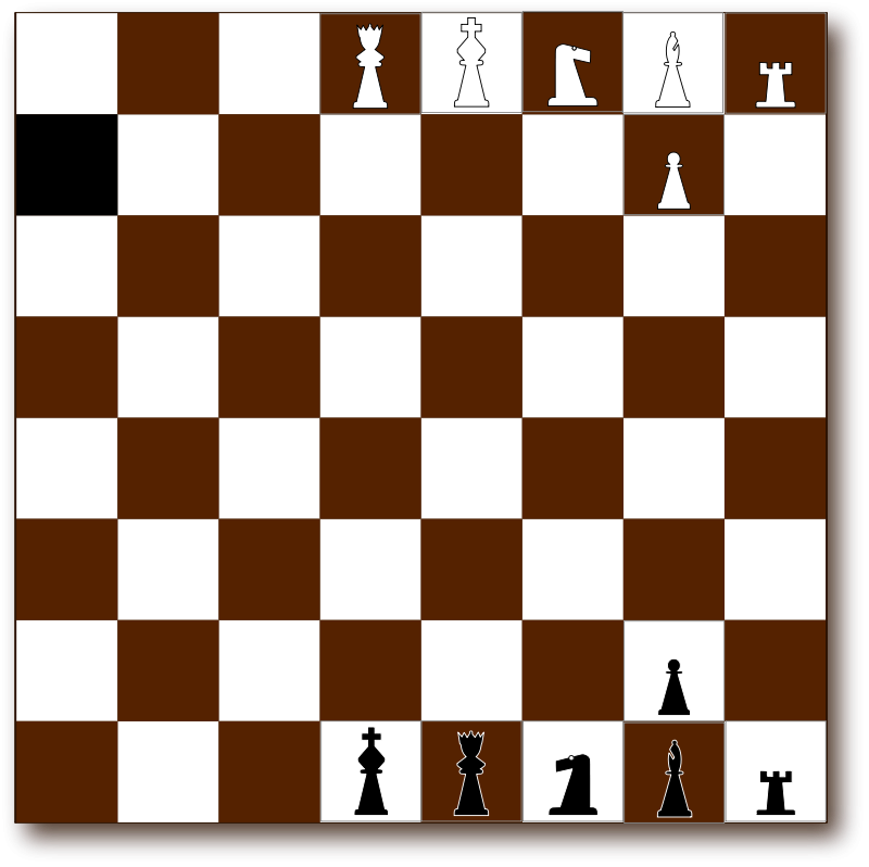 Free Chessboard 2d Brown