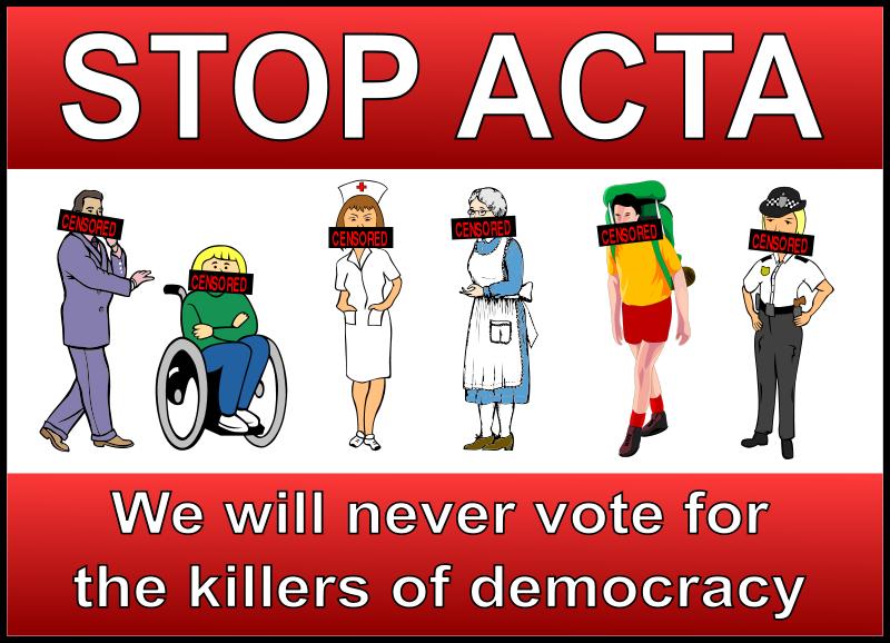 Free Stop ACTA