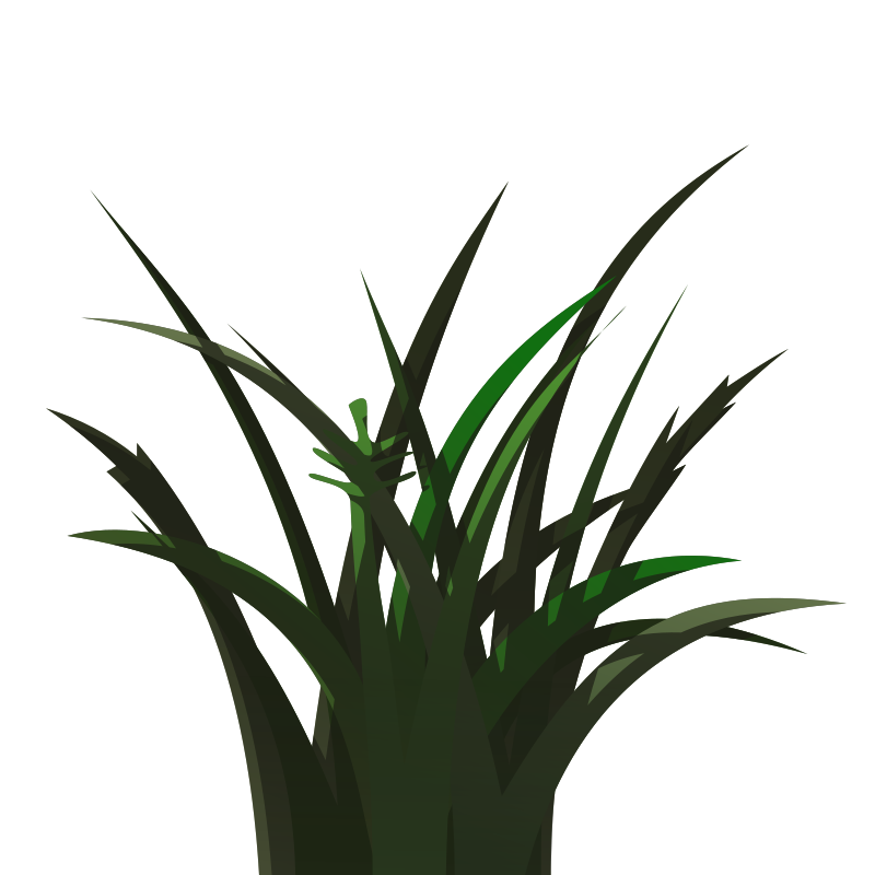 Free Grass shaded with layers