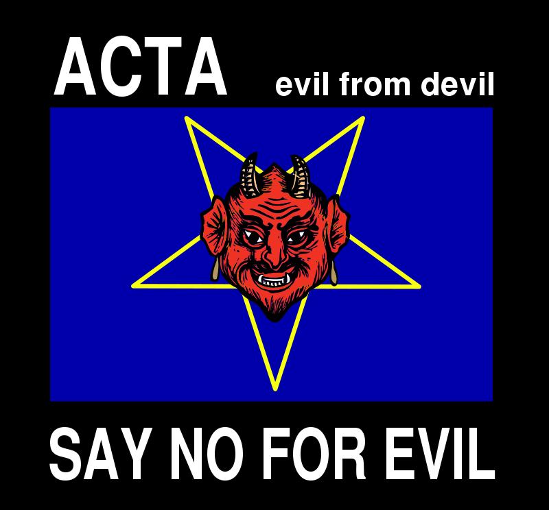 Free ACTA evil